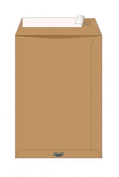 Пакет крафт В4 ф.250*353 мм стрип