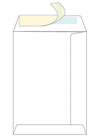 Пакет белый С4 ф.229*324мм стрип